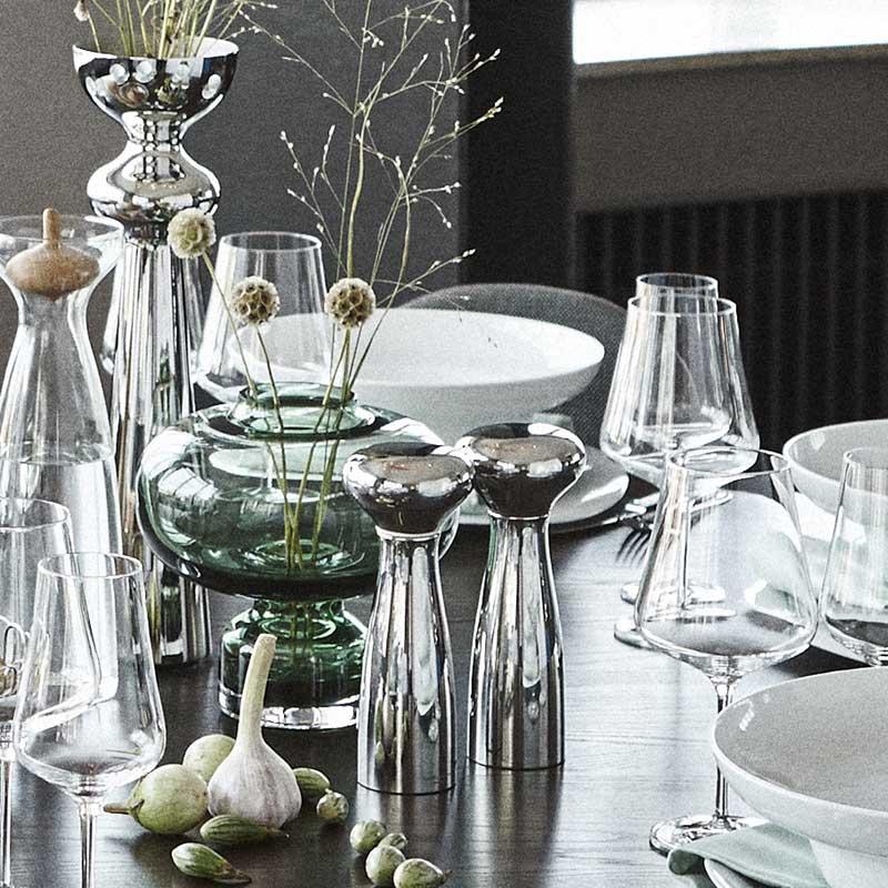 pack 3585669 ALFREDO salt and pepper stainless steel dinner vase