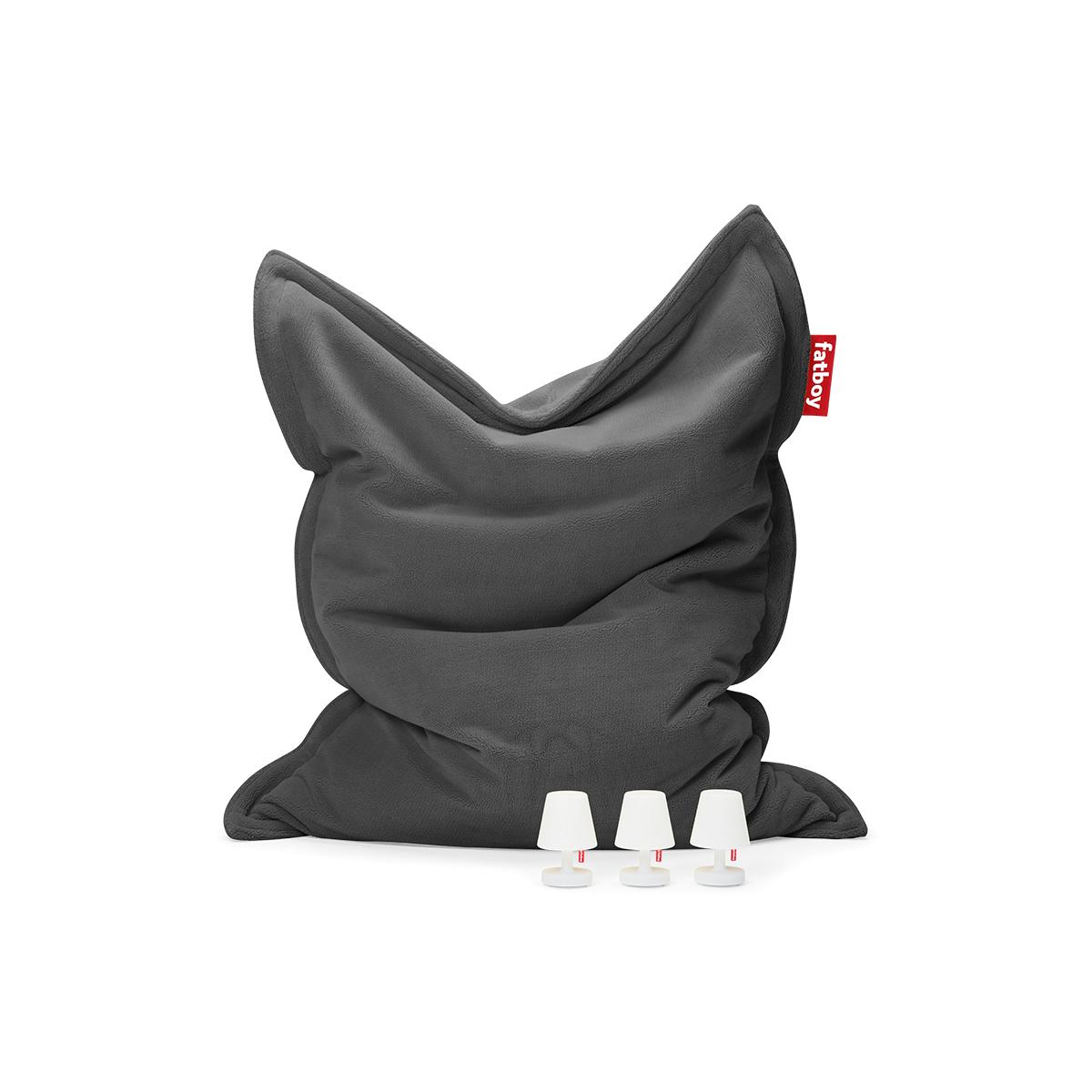 8719773032010 FATBOY Teddy anthracite packshotplus 01