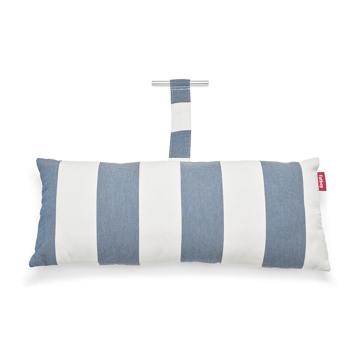 8719773036568 FATBOY Headdemock Superb Pillow Stripe Ocean Blue Packshot 104412