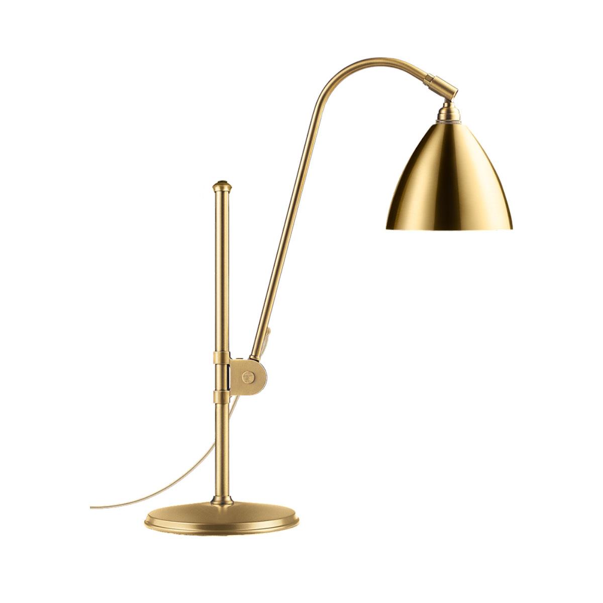 Gubi BL1 table lamp 16 shinybrass