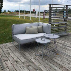 Cane-Line Conic 2-pers soffa vänster modul 8533 Demo