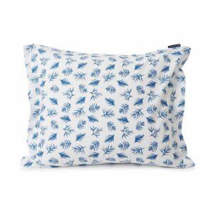 lexington-blue-leaves-poplin-pillow-case