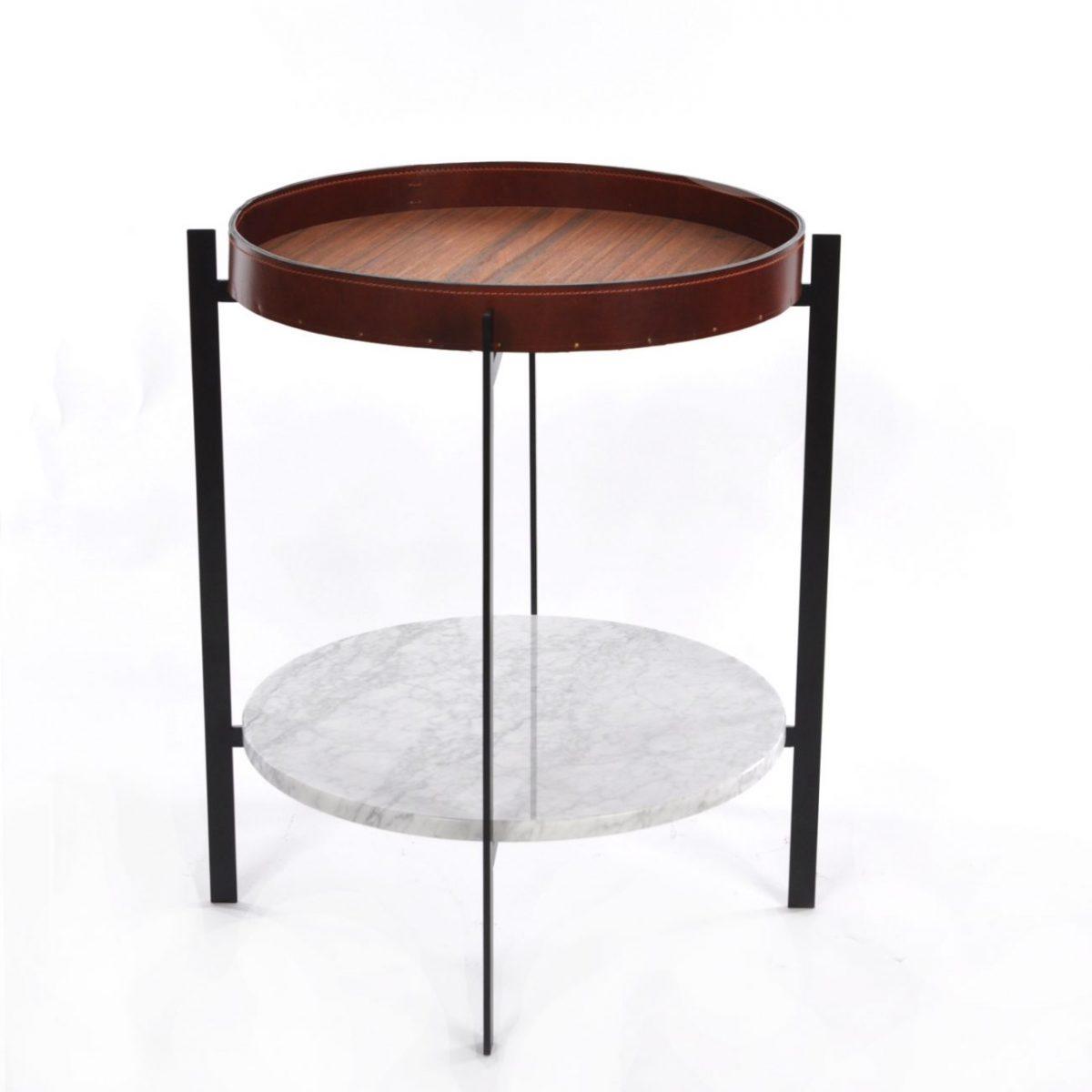 Deck-Table-cognac-leatherCarerraBlack